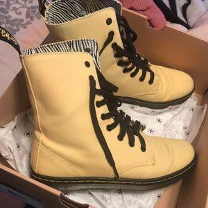 Dr. Martens canvas boot